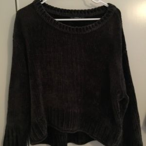 Dark green Zara sweater